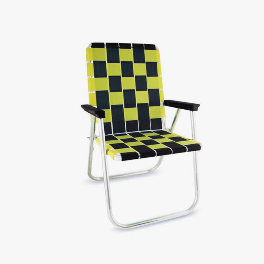 Black & Yellow Classic Chair