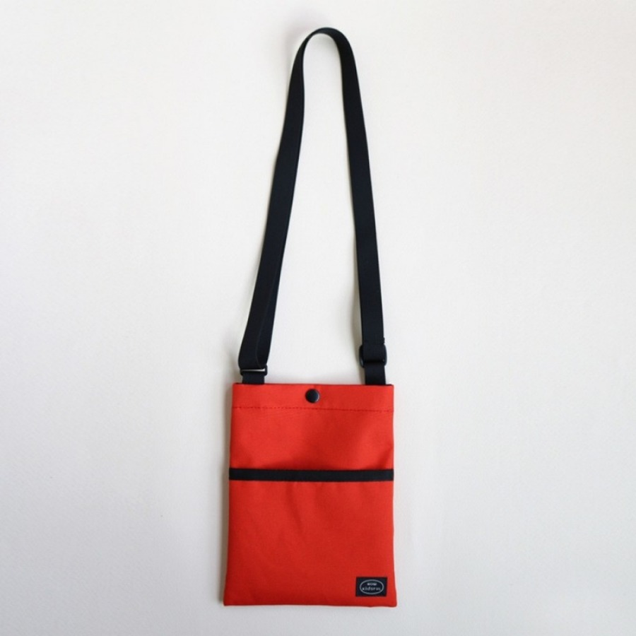 mini bag -  (red orange)