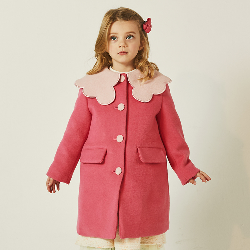 blossom coat _ cherry pink