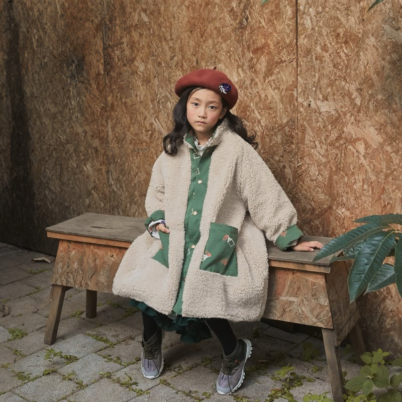 Veg Camp Fur Coat [KHAKI]