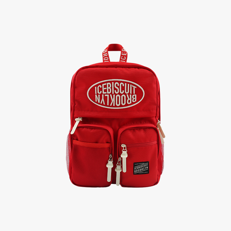 Icebiscuit symbol logo double pocket backpack