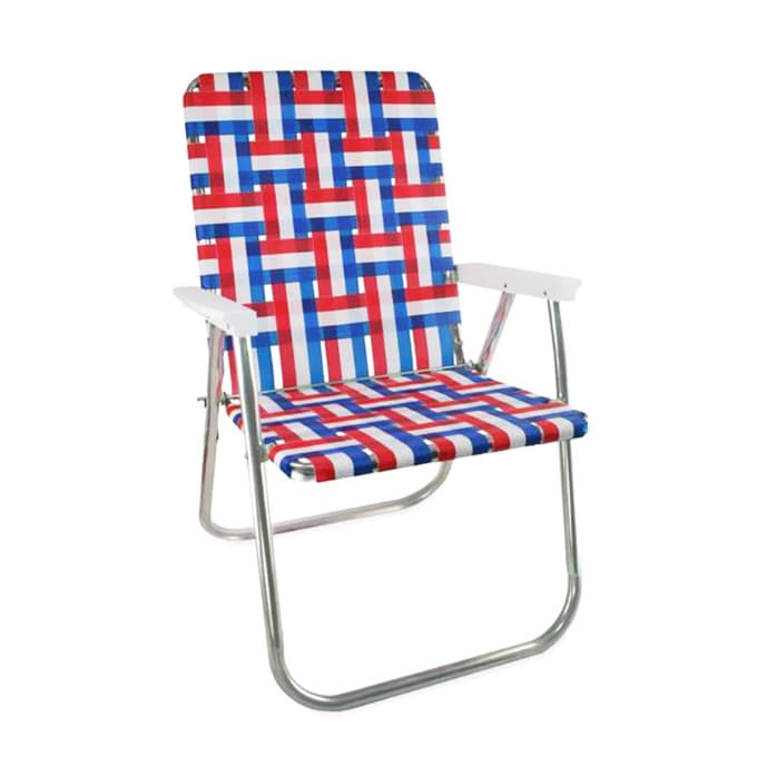 Old Glory Classic Chair with White Arms