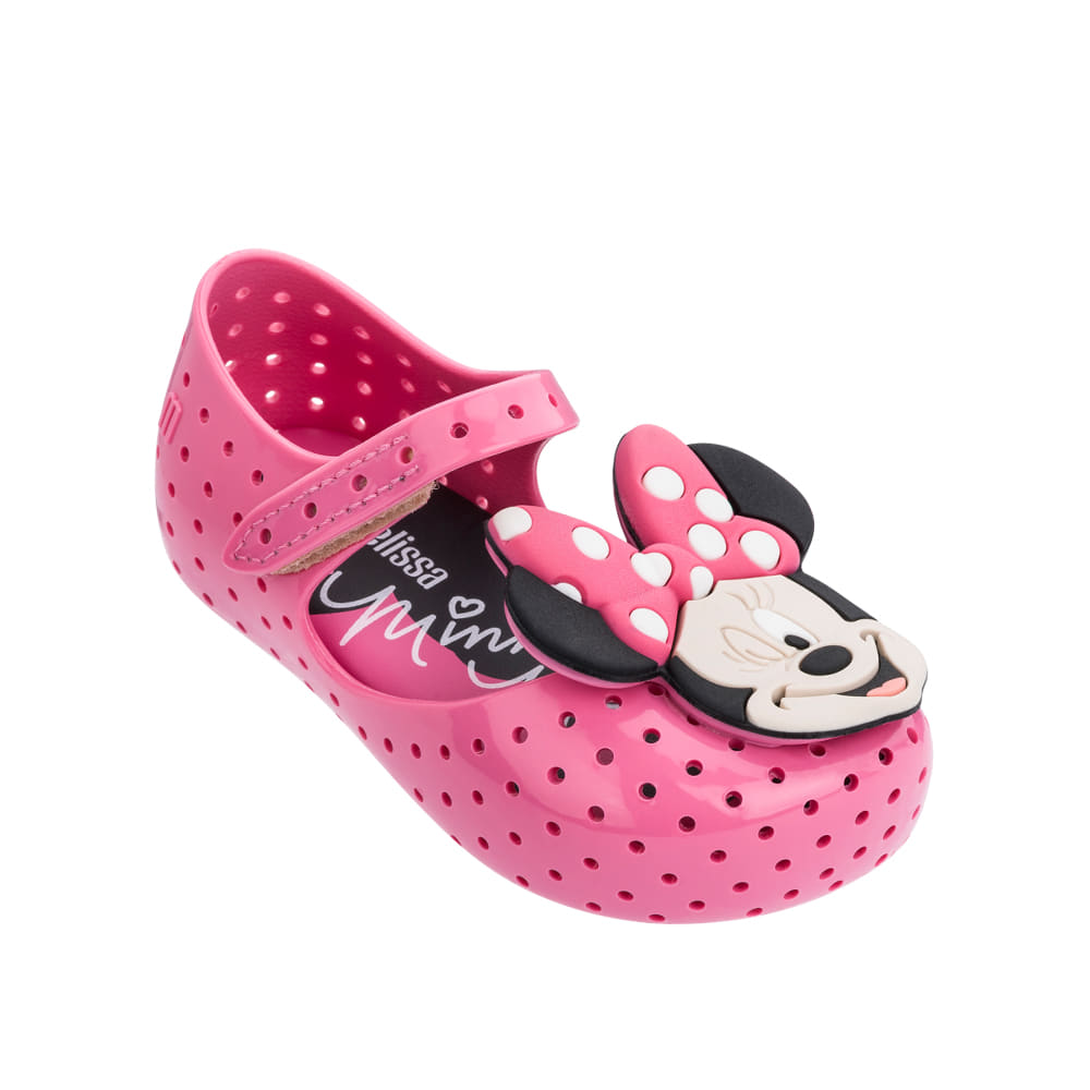 캐리마켓 -  Mini Melissa Furadinha + Minnie II Bb (Pink)