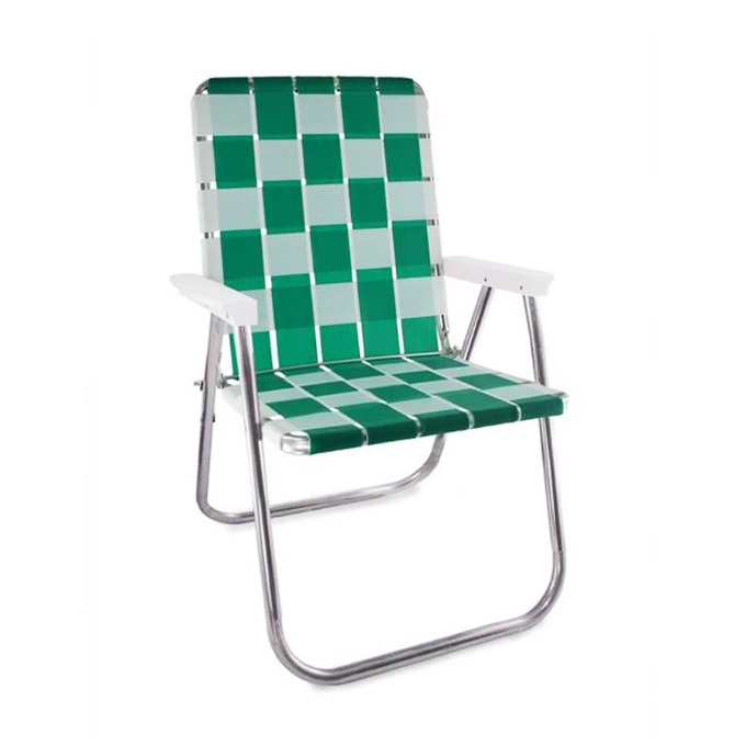 Green & White Classic Chair