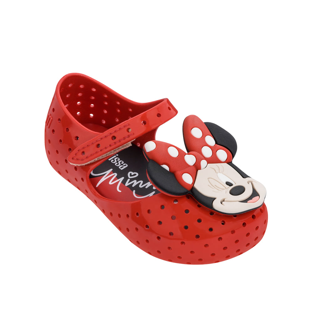 캐리마켓 -  Mini Melissa Furadinha + Minnie II Bb (Red)