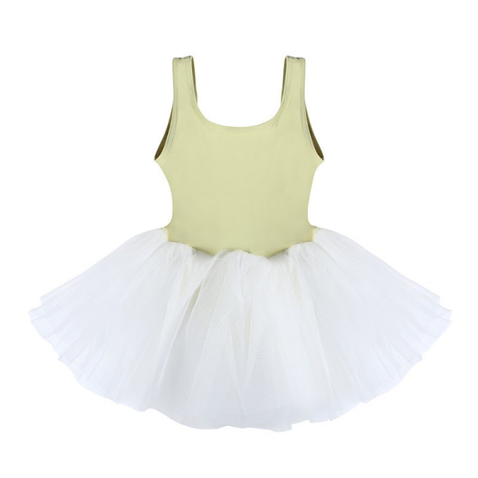 Snap Tutu dress_Lime