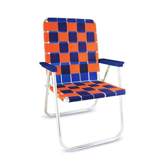 Blue & Orange Classic Chair