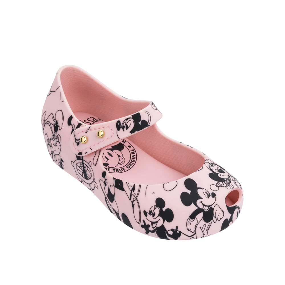 Mini Melissa Ultragirl + Mickey Bb (Light Pink)