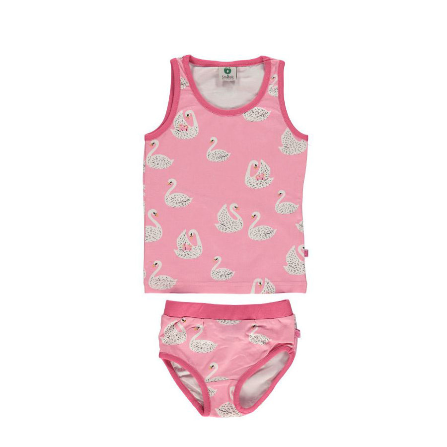 Underwear with swansea pink