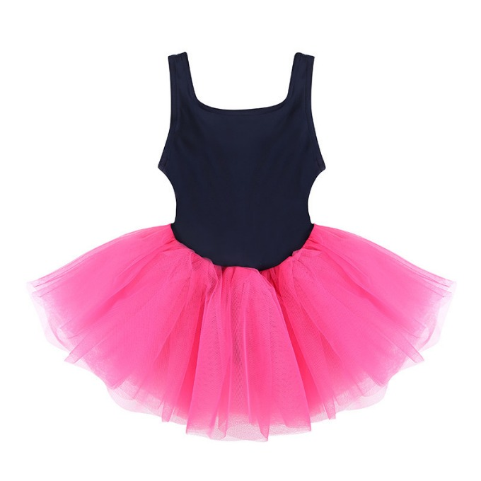 Snap Tutu dress_Navy