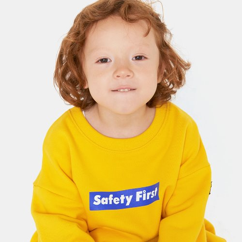 SAFETY FIRST SWEATSHIRT-YELLOW