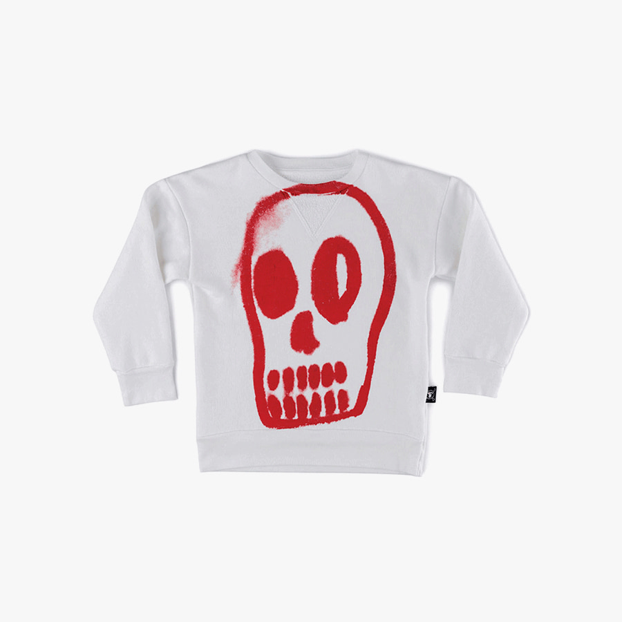 Painted dizzy skull sweatshirt (Kids)