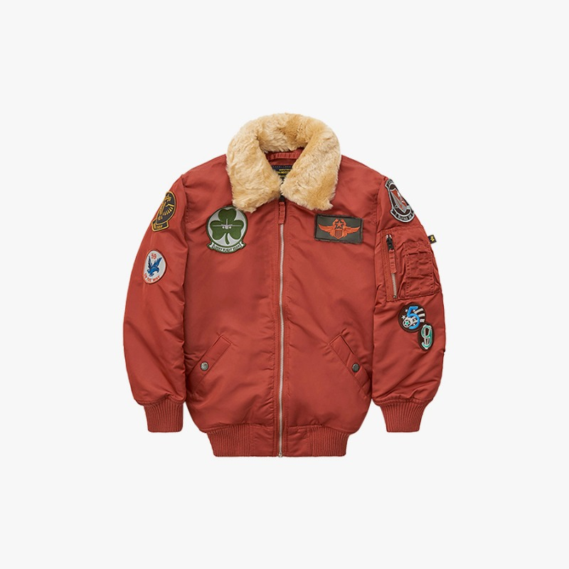 MAVERICK JACKET (RUST)