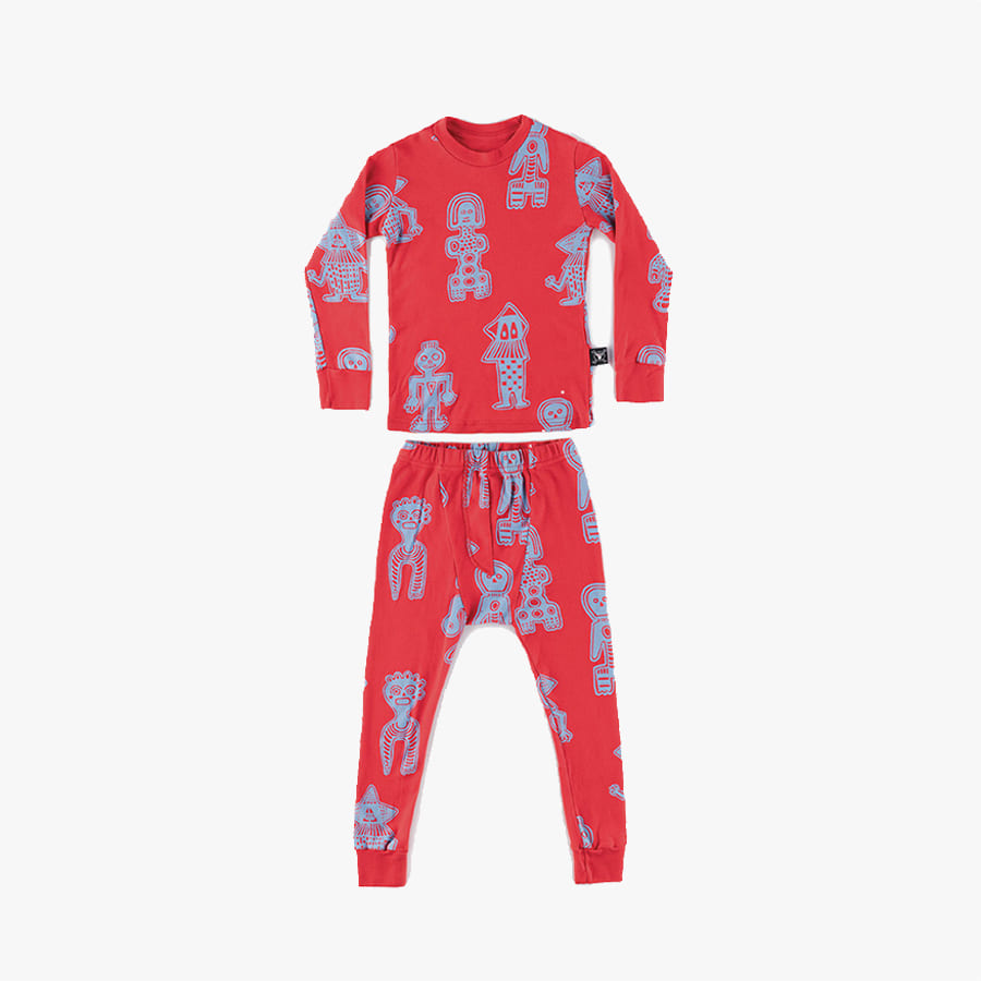 All over tribal dancers loungwear (Kids)