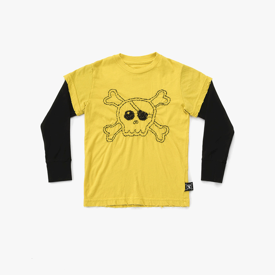 Embroidered skull t-shirt (Baby)