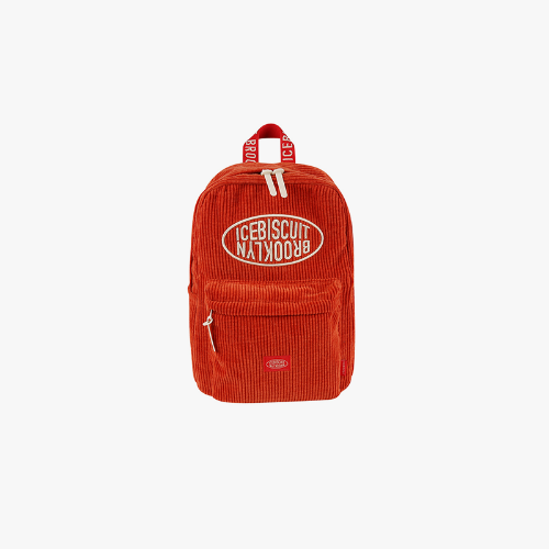 Icebiscuit symbol corduroy backpack