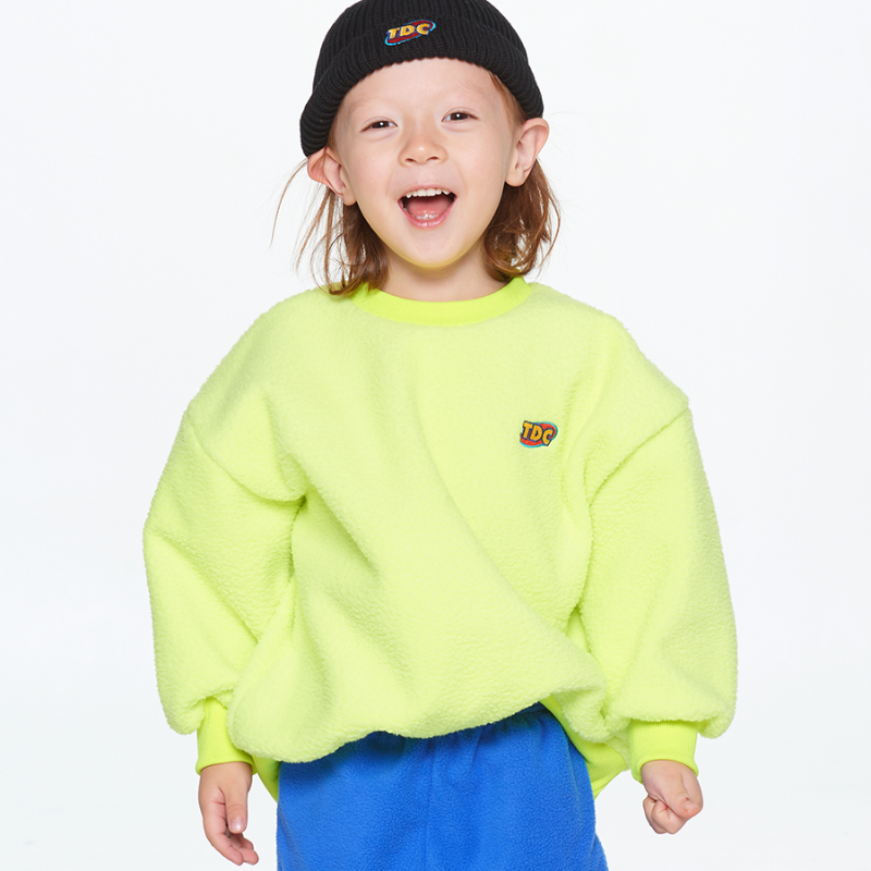 BEAR SWEAT SHIRT_NEON