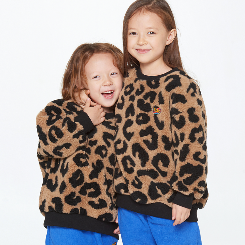 BEAR SWEAT SHIRT_LEOPARD