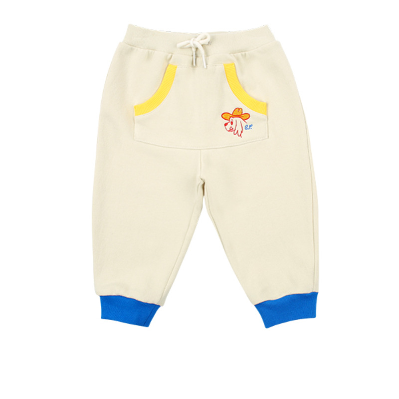 Ducky baby colorblock pocket sweatpants