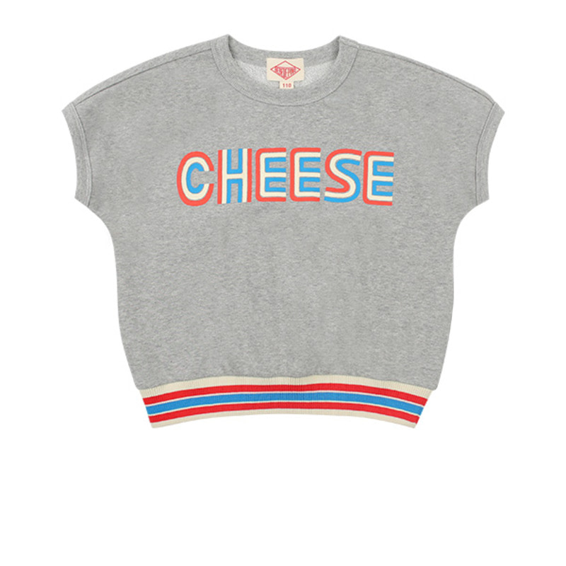 Cheese french sleeve sweatshirt