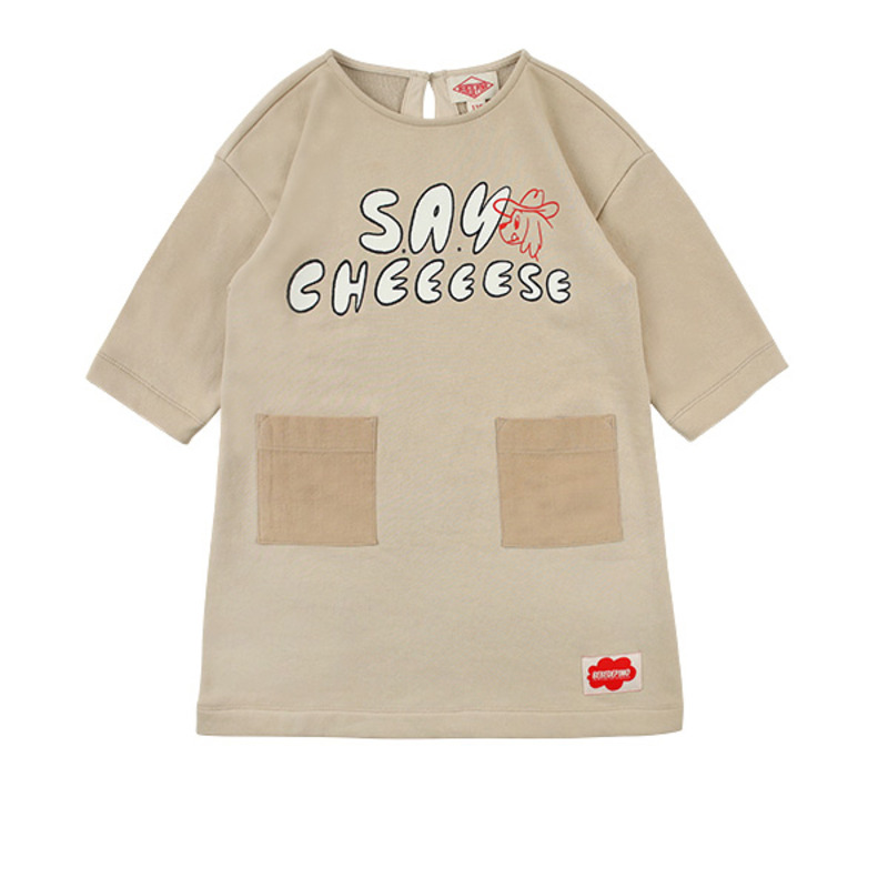Say Cheese sweat dress