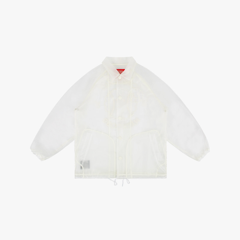 Tennis smile transparent coach jacket