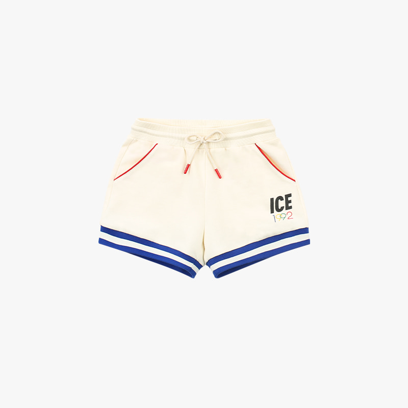 1992 ice stripe rib point shorts