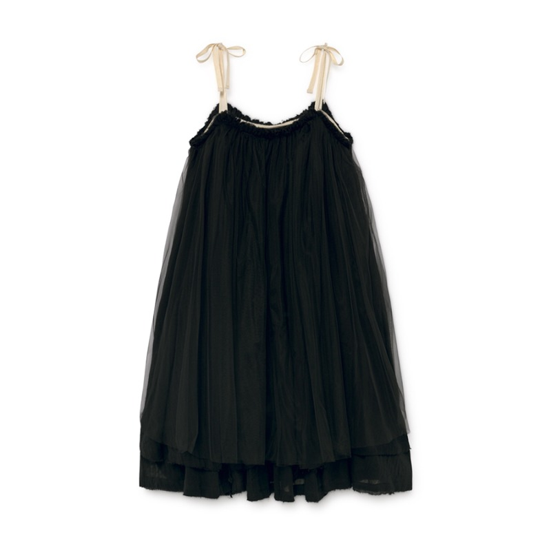 Muslin Fairy Sundress (black)