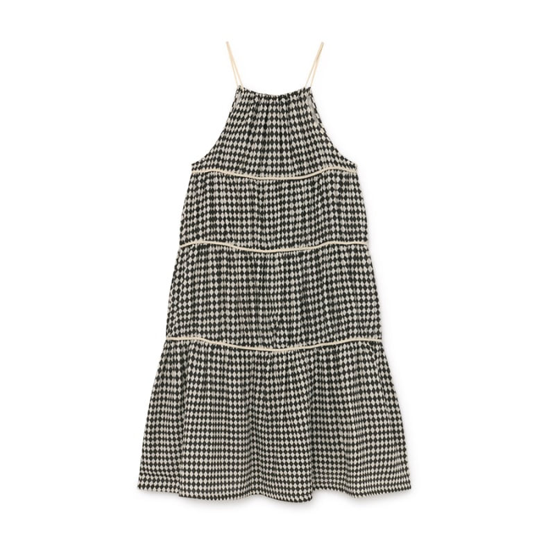 Tiny Diamond Sundress (black)