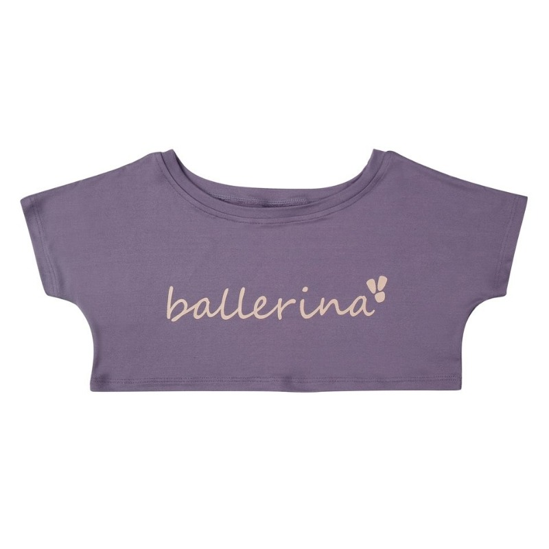 Simple T-shirt_Purple