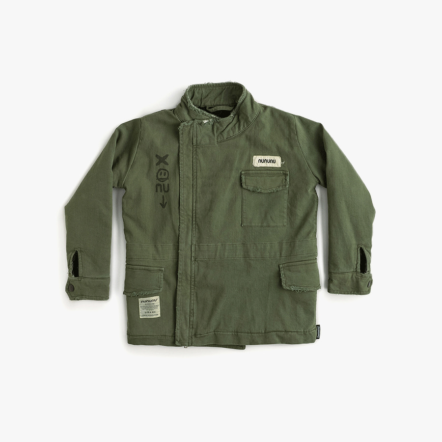 Heavy lined military jacket (kids)