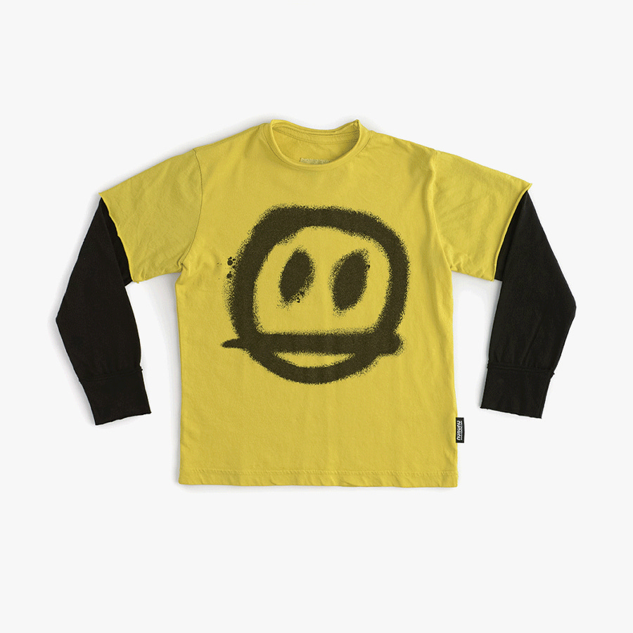 Sprayed smile t-shirt (kids)