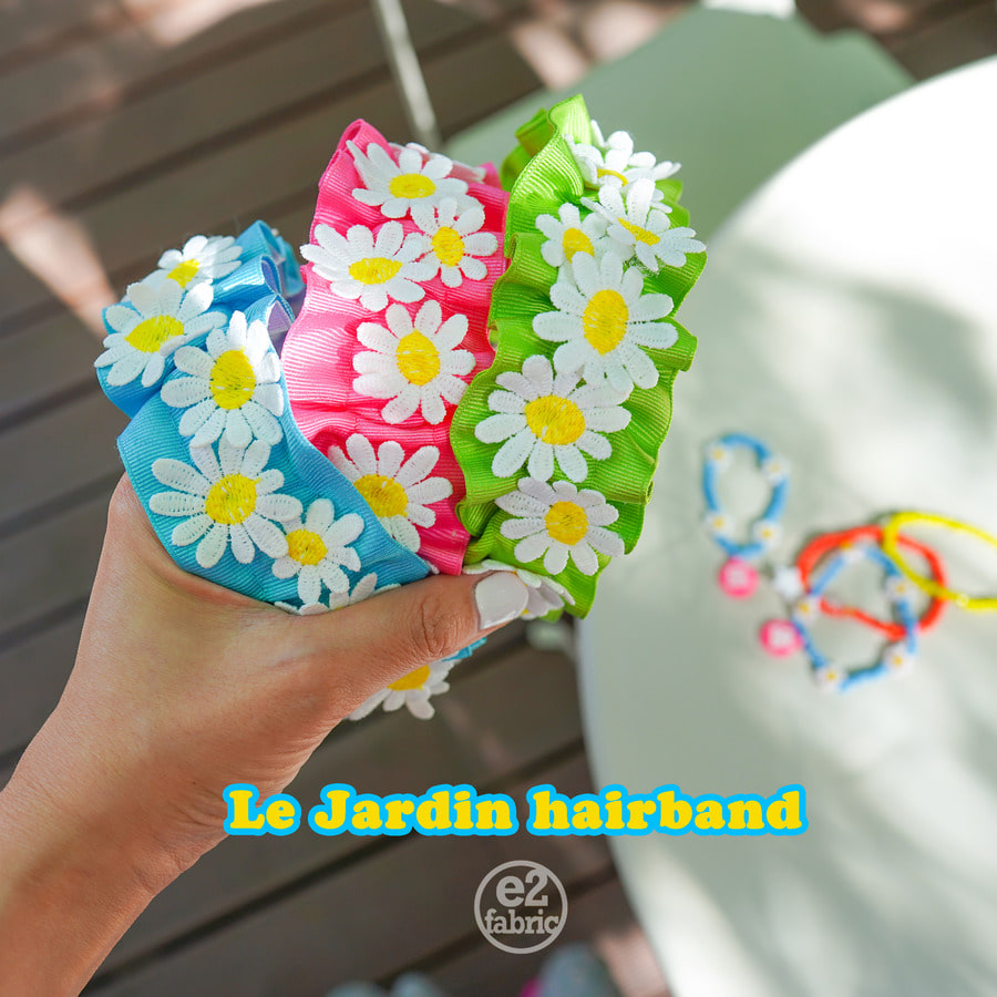 Le Jardin Hairband