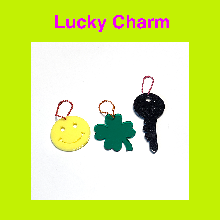 [Penny and Koko] Lucky Charm (3 types)