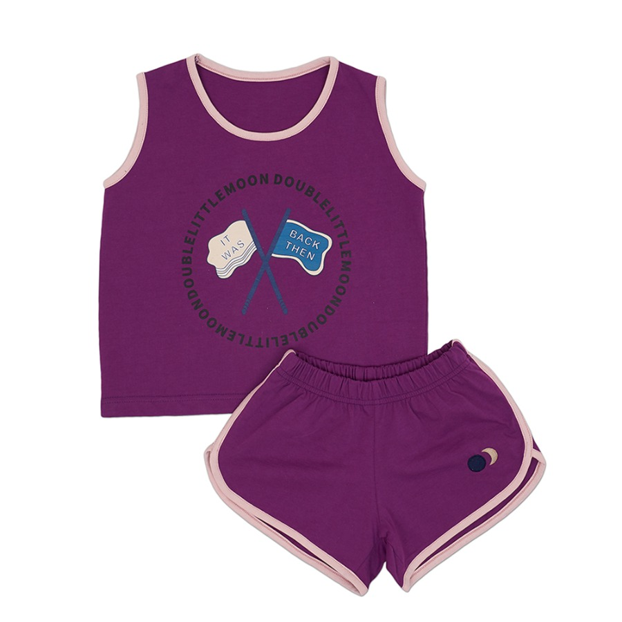 Cheer up Dolphin Set (purple)