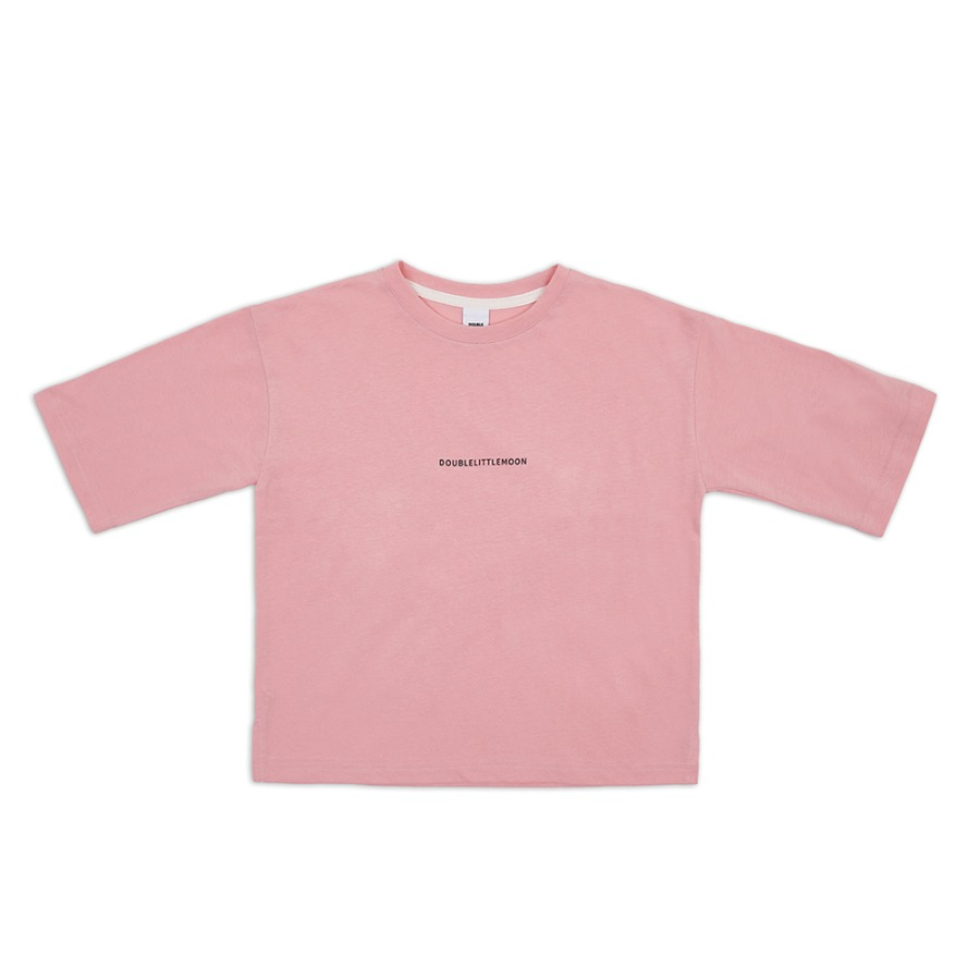Simple Logo Magic T-shirt (powder pink)