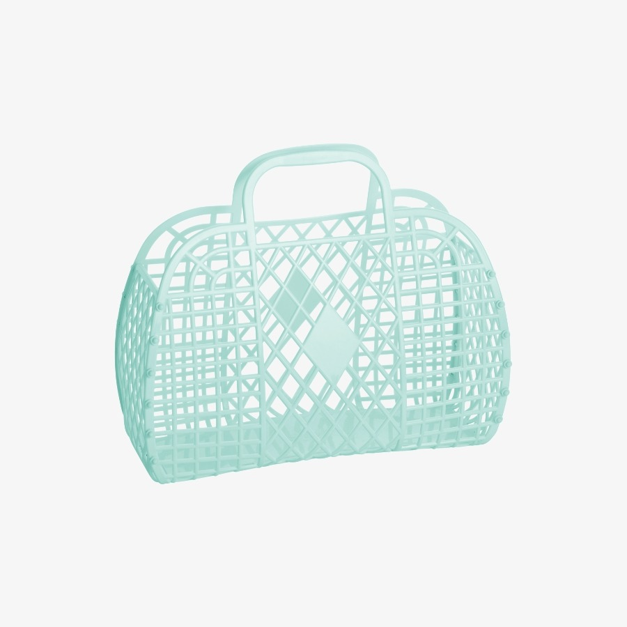 캐리마켓 -  Retro Basket Large MINT