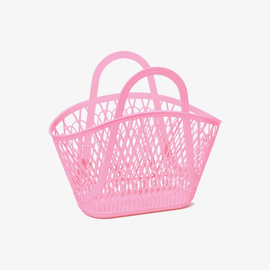 Betty Basket BUBBLEGUM PINK