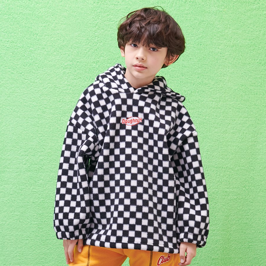 CHECKER BOARD HOODY