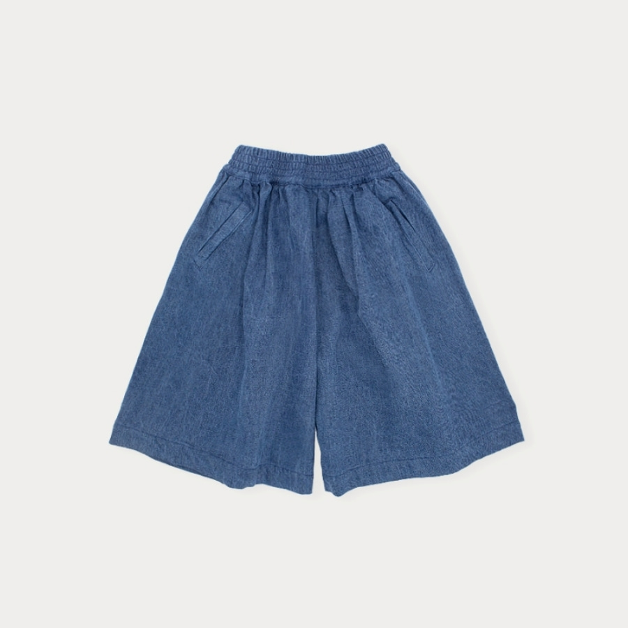 캐리마켓 -  Denim culotte pants 4Y-8Y