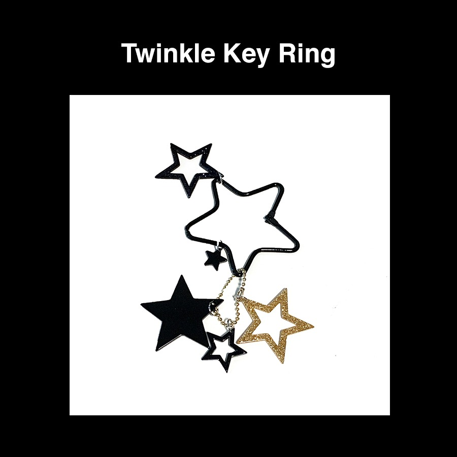 [Penny and Koko] Twinkle Key Ring