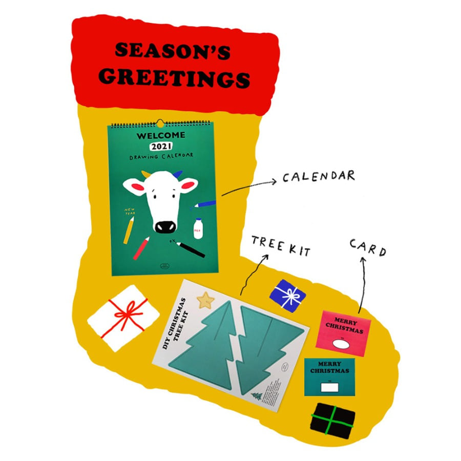 SEASON'S GREETINGS SET