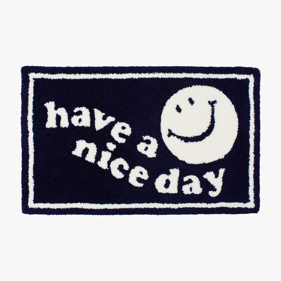 캐리마켓 -  Nice day Rug mat_(navy)