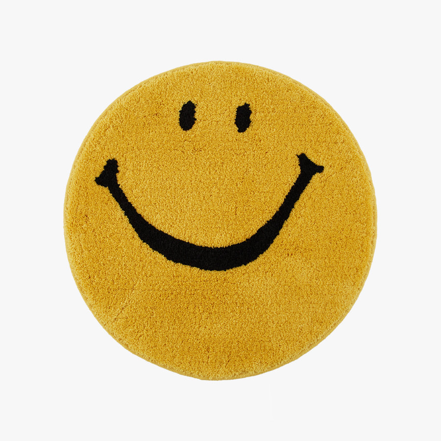 캐리마켓 -  Vintage smile Rug mat_(yellow)