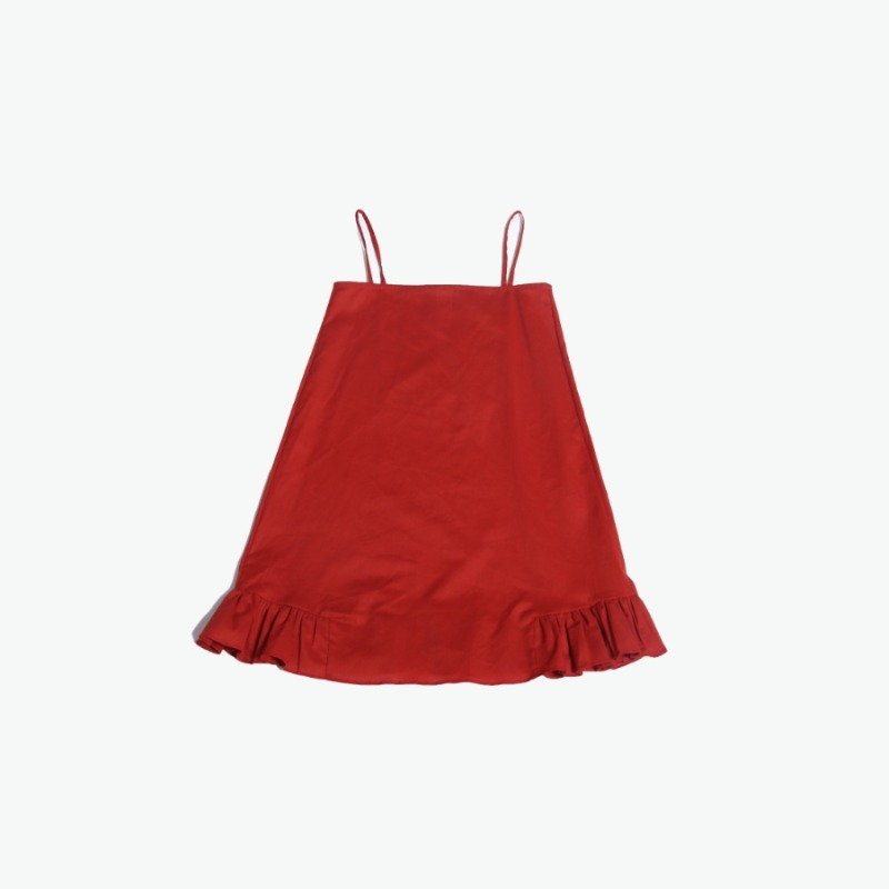 Layering chemise (Red)