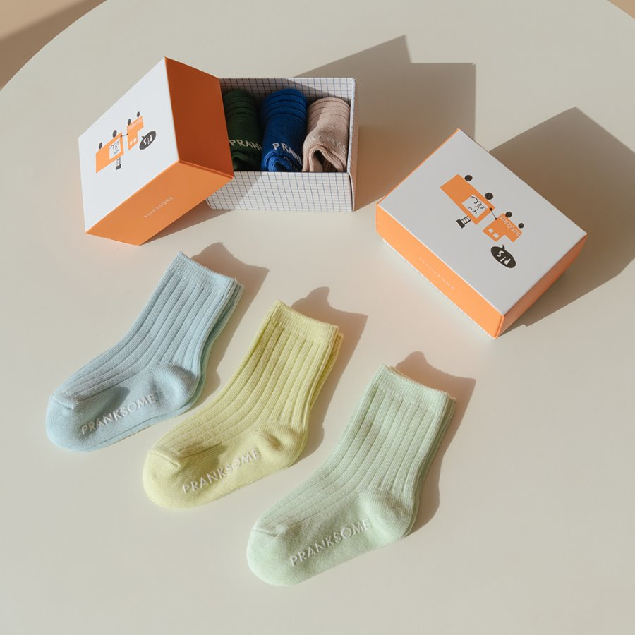 캐리마켓 -  [프랭크썸] Standard Ribbed Socks SET_Pastel