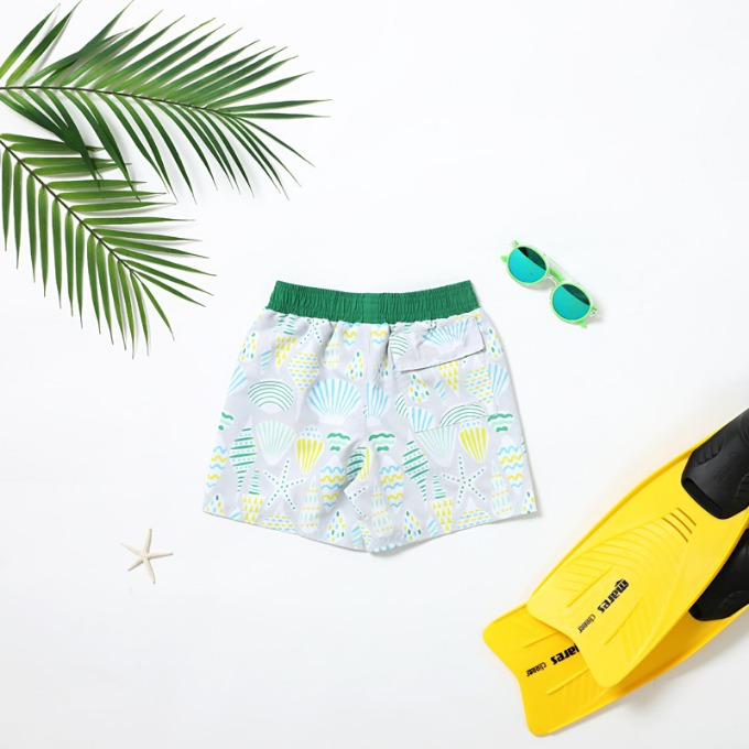 BOY'S SWIM TRUNK - SHELL