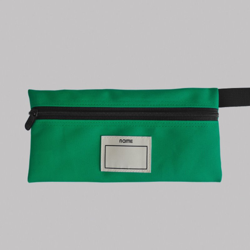 캐리마켓 -  PENCIL CASE (GREEN)