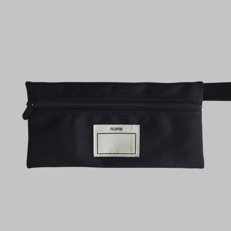 캐리마켓 -  PENCIL CASE (BLACK)