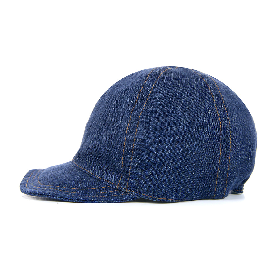 LITHUANIA LINEN BALL CAP